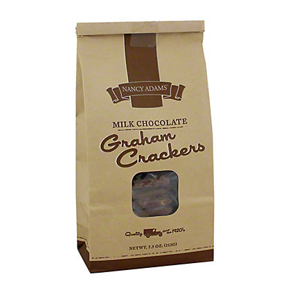 Nancy Adams Milk Chocolate Grahams,7.5 OZ