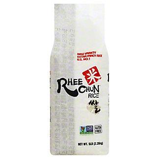 Rhee Chun White Rice, 5 lb