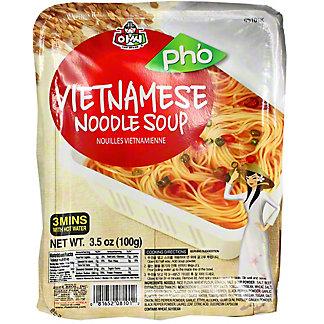 Assi Rice Noodle Bowl Pho, 3.5 oz