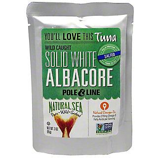 Natural Sea White Albocore Tuna Pouch, 3 OZ