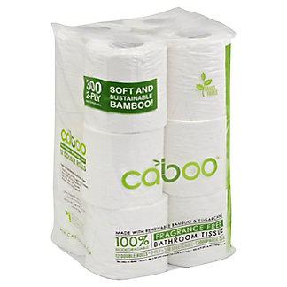 Caboo Caboo 300 Sheet 12 Pack Bathroom Tissue,12.00 ea