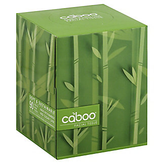 Caboo 90 Sheet Facial Tissue Cube, ea