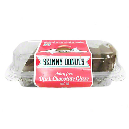 Guiltless Superfoods Skinny Donuts Dark Chocolate, 15 oz