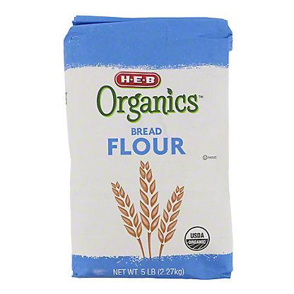 H-E-B Organics Bread Flour, 5 lb
