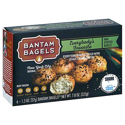 Bantam Bagels Everybodys Favorite Stuffed Bagels, 6.00 ea