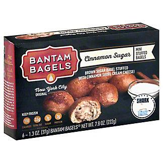 Bantam Bagels Cinnamon Bun Stuffed Bagels, 6 ea