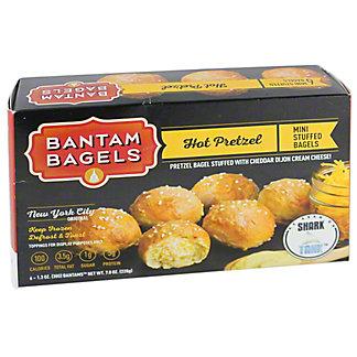 Bantam Bagels Hot Pretzel, 6 ea