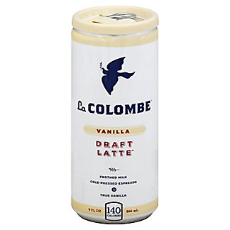 La Colombe Vanilla Draft Latte, 9 oz