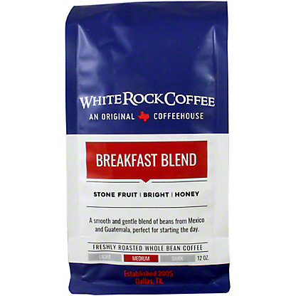 White Rock Coffee Breakfast Blend, 12 oz