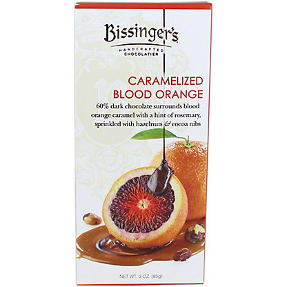 Bissinger's Caramelized Blood Orange Dark Chocolate Bar, 3 oz