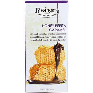 Bissinger's Honey Pepita Caramel Dark Chocolate Bar, 3 oz