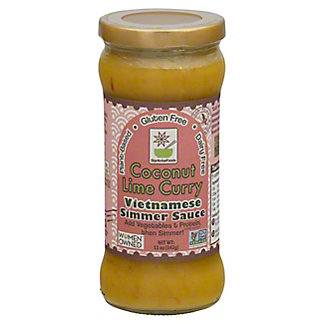 Star Anise Foods Coconut Lime Curry Sauce,12 OZ