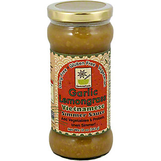 Star Anise Foods Garlic Lemongrass Simmer Sauce, 12 OZ
