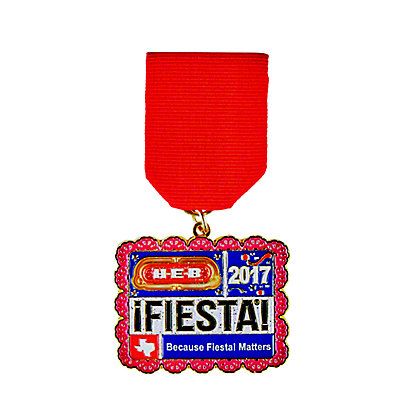H-E-B 2017 Fiesta Medal, EACH