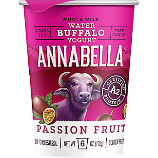 Annabella Passion Fruit Buffalo Yogurt, 6 oz