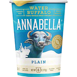 Annabella Plain Buffalo Yogurt, 6 oz