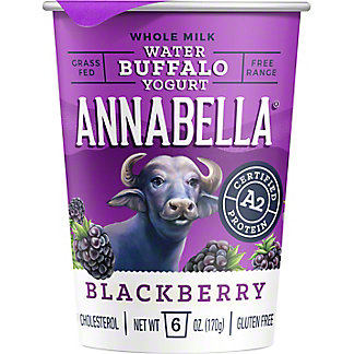 Annabella Blackberry Buffalo Yogurt, 6 oz