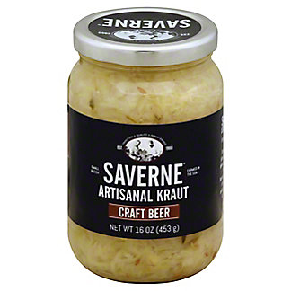 SAVERNE Craft Beer Artisanal Sauerkraut,16OZ