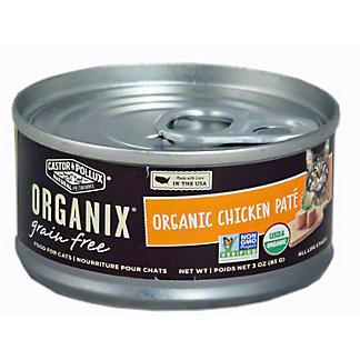 CASTOR & POLLUX Organix Chicken Pate,3 OZ
