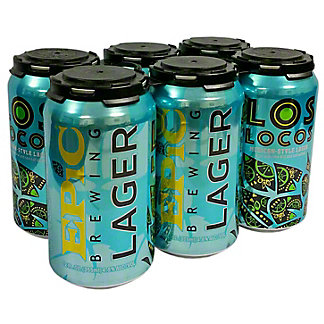 Epic Brewing Los Locos Mexican Style Lager, 6 pk