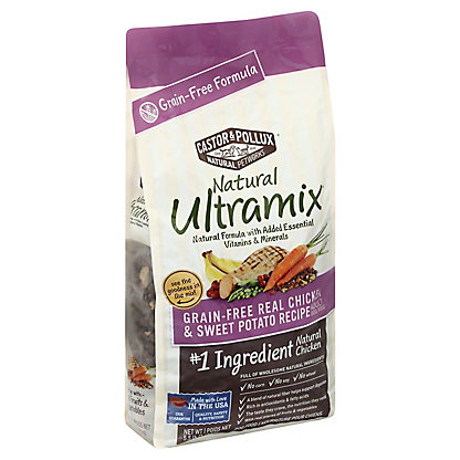 Castor & Pollux Natural Ultramix Grain Free Chicken & Sweet Potato, 5.50 lb
