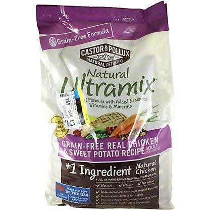 Natural Ultramix Castor & Pollux Ultramix Grain Free Chicken & Sweet Potato, 25 lb