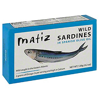 Matiz Gallego Sardines In Olive Oil, 4.20 oz