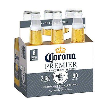 Corona Premier Beer 12 oz Bottles, 6 pk