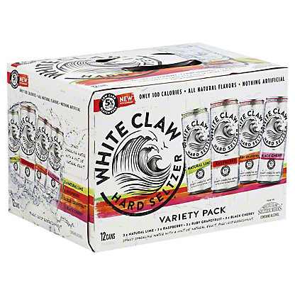 White Claw Hard Seltzer Variety Pack, 12 pk