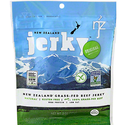 New Zealand Jerky Premium Beef Jerky Original, 2 oz