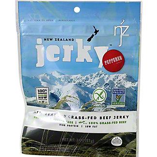 New Zealand Jerky Premium Beef Jerky Peppered, 2 oz