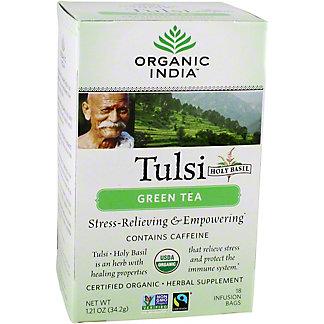 Organic India Tulsi Holy Basil Green Tea Bags, 18 ct