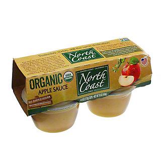 North Coast Organic Applesauce,4/4 oz