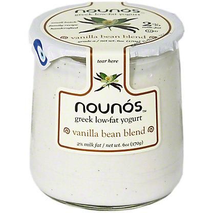 Nounos 2% Greek Yogurt Vanilla Bean Blend, 6 oz