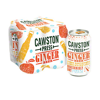 Cawston Press Ginger Beer 11 oz Cans,4 pk