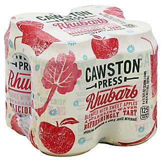 Cawston Press Apple Rhubarb 11 oz Cans, 4 pk