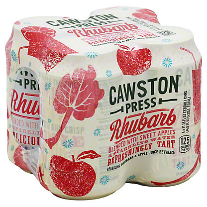 Cawston Press Apple Rhubarb 11 oz Cans, 4 pk