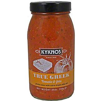 Kyknos Tomato & Feta Pasta Sauce, 25 OZ