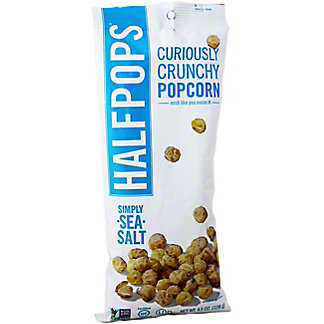 Halfpops Simply Sea Salt,4.5 OZ