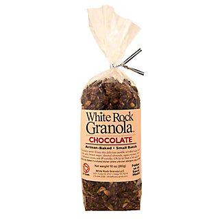 White Rock Granola Chocolate, 10 OZ