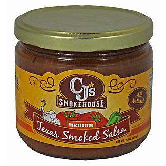 CJS Smokehouse Medium Texas Smoked Salsa,11.5OZ