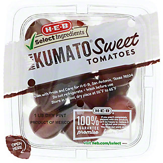 H-E-B Select Ingredients Mini Kumato Tomatoes, 1 Pint