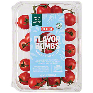 H-E-B Select Ingredients Flavor Bomb Sweet Tomatoes, 14 oz