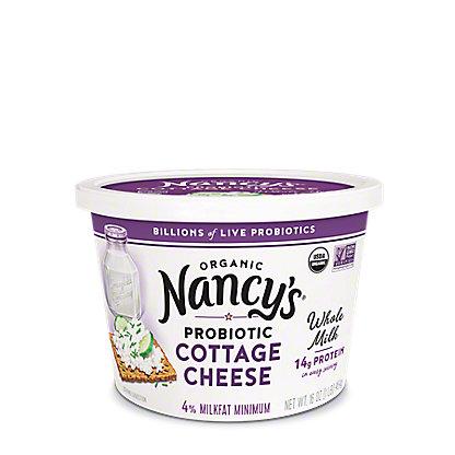 Nancy's Organic Whole Milk Cottage Cheese, 16 oz