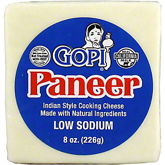 Gopi Cheese Paneer, 8 oz
