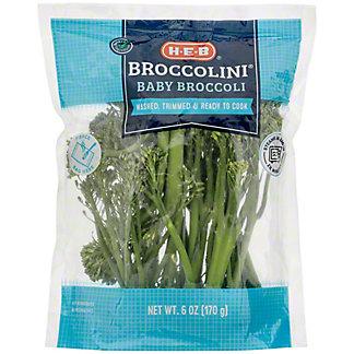 H-E-B Broccolini Bag, 6 oz