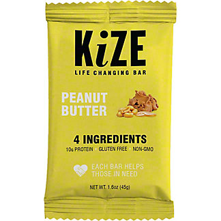 Kize Kize Raw Energy Bar Peanu Butter,1.6 OZ