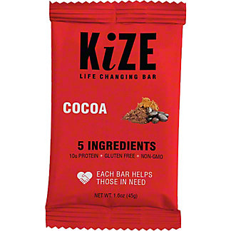 Kize Raw Energy Bar Cocoa,1.6 OZ