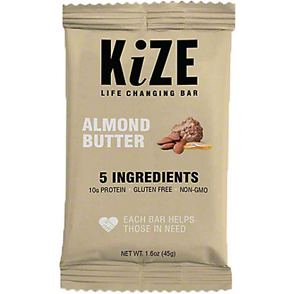 Kize Raw Energy Bar Almond Butter,1.6 OZ