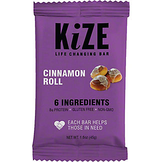 Kize Raw Energy Bar Cinnamon Raisin,1.6 OZ